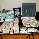 Foto de archivo de una operación de la Policía Nacional contra el blanqueo de capitales y tráfico de drogas. Entre los   objetivos del nuevo Comisario de Albacete se encuentran precisamente los nuevos delitos tecnológicos y financieros.