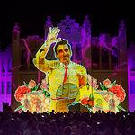 Vídeo mapping en homenaje al 40 aniversario de la Constitución de 1978 proyectado sobre la Plaza de Toros de Albacete
