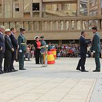 La Guardia Civil de Albacete celebra la Festividad de la Virgen del Pilar. Foto: MML