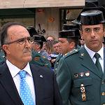 Federico Pozuelo, subdelegado del Gobierno en Albacete, junto a Jesús Manuel Rodrigo Sánchez, Teniente Coronel de la Comandancia de la Guardia Civil de Albacete