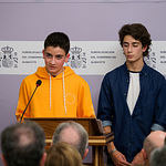Acto institucional del 40 Aniversario de la Constitución Española celebrado en Albacete
