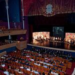 Los Embajadores de la Feria de Albacete 2010 en el Teatro circo de Albacete.