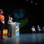 Celebración del 175 aniverario de la fundación de la Guardia Civil