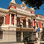 Edificio de la Diputación Provincial de Albacete.