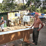 Imagen de archivo de una comunidad en el departamento de La Libertad, en El Salvador.