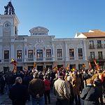 Concentración de la plataforma 'España Existe' en Guadalajara. Foto: @VOX_Guadalajara