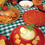 Santi Santamaría es un defensor a ultranza de la gastronomía tradicional. Foto: Platos típicos de Castilla-La Mancha.
