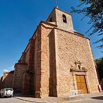 Iglesia parroquial de Santiago El Mayor, del siglo XV, en Membrilla.