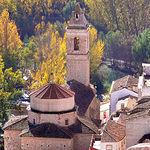La construcción del templo de la Iglesia de San Andrés se inicio en el siglo XVI y finalizó en el XVIII.