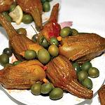 Aliñadas con una fórmula tradicional, las berenjenas de Almagro constituyen un verdadero manjar.