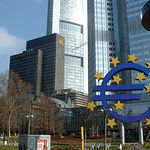 Edificio del Banco Central Europeo, Frankfurt (Alemania).