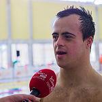 Eloy Molina, subcampeón del mundo en 50 metros mariposa