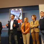 Miembros del Congreso y Senado por Albacete - Presentación cartel elecciones 20N.