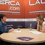 María Pilar Jiménez - Presidenta de APRECU, junto a la periodista Miriam Martínez