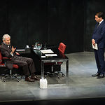 "José Sacristán durante la obra ""Muñeca de Porcelana"""