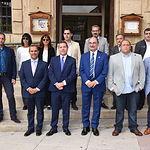 El presidente de Castilla-La Mancha, Emiliano García-Page, y el presidente de Aragón, Javier Lambán, se reúnen, en el Molino del Batán de Molina de Aragón, para abordar diversos temas de interés para ambas regiones. (Fotos: José Ramón Márquez // JCCM).