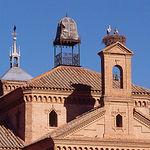 Detalle de la ermita del Cristo de la Soledad, en Moral de Calatrava (Ciudad Real).