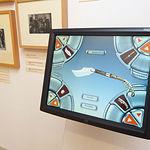 Las nuevas tecnologías también son visibles en el Museo de la Cuchillería para facilitar la visita a los usuarios.