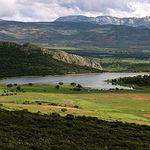 Castilla-La Mancha posee una gran extensión de espacios cinegéticos. En la imagen, la finca El Palomar, en la provincia de Albacete, propiedad del ganadero Samuel Flores.