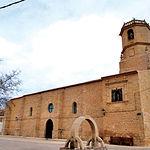 Iglesia parroquial de San Sebastián, en Vianos (Albacete).