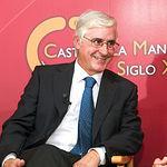 José María Barreda, presidente de Castilla-La Mancha, durante la entrevista concedida a La Cerca Televisión en el I Congreso de Gastronomía de Castilla-La Mancha celebrado en Albacete.