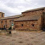 Iglesia parroquial de San Sebastián, en Villapalacios.