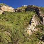 Cañón del Hundido de Armallones, cuyo origen se encuentra en un terremoto acaecido en el siglo XVI.