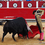 Roca Rey - Su primer toro - Corrida 15-09-17