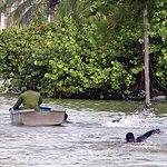 Cada vez es más frecuente que mientras unas zonas del planeta se desertizan otras sufran los mayores desastres por inundaciones de su historia.