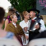 Actuación del Grupo de Coros y Danzas 'Abuela Santa Ana'.
