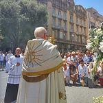 Procesión del Corpus Christi en Albacete.