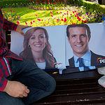 Carteles del PP de Albacete para las Elecciones Generales del 28A