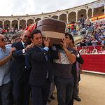 Capilla Ardiente y Entierro de Dámaso González