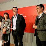 Cristina Narbona participa en un acto del PSOE Albacete.