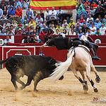 Diego Ventura - Su primer toro - Corrida Feria Taurina 09-09-18