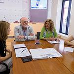 Encuentro informativo con empresas privadas de la red de residencias, realizado en la Casa Perona