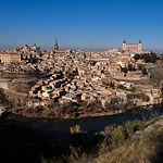 Vista de la Ciudad Imperial de Toledo.