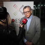 Pedro Gómez Mora (Director de las Jornadas y representante de ADES-CLM)- II Jornadas de Economía 'Presente y futuro del cooperativismo en Castilla-La Mancha' organizadas por ADES C-LM y la UCLM.