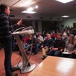 Presentación de la candidatura de Emilio Sáez a la Secretaría General de la Agrupación Local del PSOE de Albacete