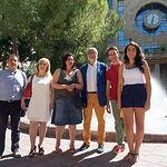Parejas seleccionadas como Manchegos de la Feria de Albacete 2015.