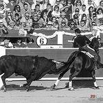 Leandro Hernández - Su primer toro - ByN Corrida 10-09-17