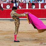 Cayetano - Primer toro - Corrida 17-09-17