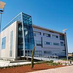 Edificio del Centro de Emprendedores en el Parque Científico y Tecnológico de Albacete.