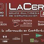 Presentación, este 13 de abril de 2018,, en el restaurante de El Corte Inglés de Albacete, de los Actos conmemorativos del 20 Aniversario del Grupo Multimedia de Comunicación La Cerca.