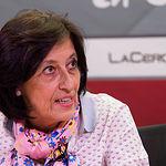 Ángela López González, secretaria general de la Hermandad de Donantes de Sangre de Albacete