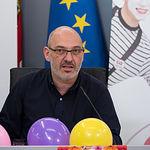 Ángel Sanz, presidente de la Asociación Albacete Centro