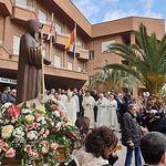Celebración de la festividad de San Antón en Albacete.