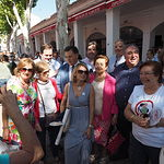 Vicente Tirado visita la Feria de Albacete 2017