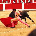 David Mora - Su primer toro-4 - Feria Taurina Albacete - 14-09-16 - Para web