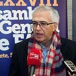 Nemesio Rodríguez, presidente de la FAPE, en la LXXVIII Asamblea General de la FAPE, realizada en Albacete